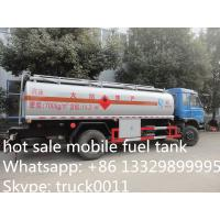 Wholesale factory sale best price Dongfeng 190hp diesel 15cbm refueling truck for sale, hot sale good price 15m3 oil tank truck from china suppliers
