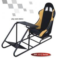 Quality Play Station WIth Seat Sport Racing Sears Simulator Cockpit Gaming Chair-JBR1012 for sale