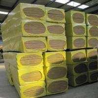 Wholesale 50mm and 100mm rock wool board for external wall thermal insulation from china suppliers