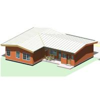 Quality Green Prefab Granny Unit Modular Home Cabin House Accommodation Carport Hotel ISO for sale