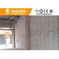 Wholesale Spacing Save composite structural panels / Sand Cement Eps Panel Outer Cladding Wall from china suppliers