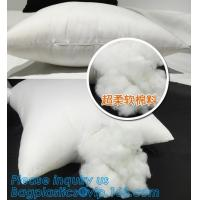 China Square custom wholesale pillow insert,white square vacuum package pillow cushion inserts,PP cototon wholesale pillow cus on sale