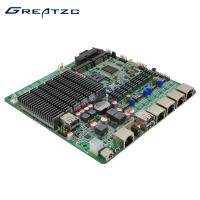Quality 12V Mini Itx Fanless Motherboard With 4 GBe Ethernet Intel , Support 1080P for sale