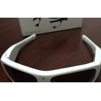 Wholesale Large Frame 5MP Mini DVR Camera Glasses With Headphones / Video Eyewear Glasses from china suppliers
