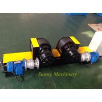 Wholesale Automatic Welding Pipe Rollers / Tank Turning Rolls , Black Painting Screw Adjustment from china suppliers