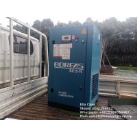 Quality 2.2m3 1.0Mpa Belt Driven Screw Air Compressor For Industrial 15kw Blue Color for sale