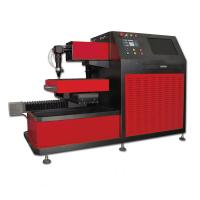 Wholesale Small CNC Laser Cutter for Saw Blade , Ironware Cutting Gas Oxygen Nitrogen or Air from china suppliers