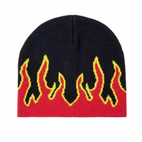 Buy cheap Fashion Brand Autumn Winter Unisex Fire Design Trend Hip Hop Knitted Soft Wear from wholesalers
