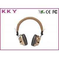 Wholesale OEM / ODM Accept Portable Bluetooth Earphones With Metal Shell / FM Radio from china suppliers