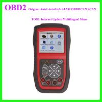 Wholesale Original Autel AutoLink AL539 OBDIICAN SCAN TOOL Internet Update Multilingual Menu from china suppliers