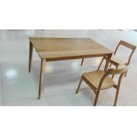 Wholesale Rectangular Small Dining Table , Solid Elm Dining Table With 4 Chairs from china suppliers