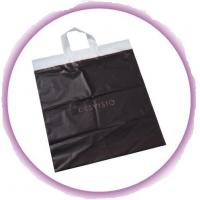 Wholesale Black Reusable Soft Loop Handle Bag For Grocery , Shopping , Storage from china suppliers