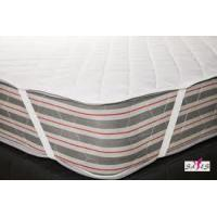 Wholesale Quilted White Waterproof 100 % Cotton High Density Fabric Hotel Mattress Pad from china suppliers