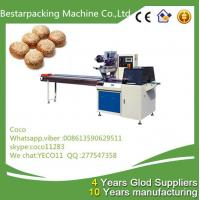 Wholesale sesame rolls Flow wrapper packaging machine from Bestar packing coco from china suppliers