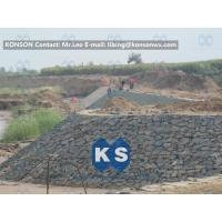 Wholesale Customized Architecture Gabion Retaining Wall with PVC Coated Galfan Wire from china suppliers