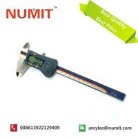 Wholesale IP 54 SUS Dark Blue Hardened  Electronic Digital Caliper With Battery 3V 0-150MM from china suppliers