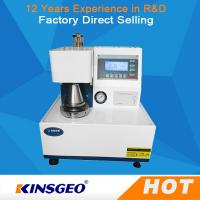 Wholesale Fully Automatic Paper Testing Equipments , Corrugated Board Paper Bursting Strength Tester from china suppliers