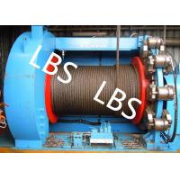 Wholesale Lebus Grooves Offshore Winch Oil Well Drilling Rig Parts Winch With Brake Disc from china suppliers
