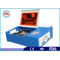Manufacturer 3020 40W mini CO2 desktop laser engraving cutting machine