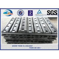 Wholesale 4 Holes 50# Railway Fishplate Steel Railroad Rail Joint Bar With Oxide Black from china suppliers