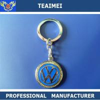 Wholesale CE Emblem Car Keychains With Metal Key Holder For Decoration from china suppliers