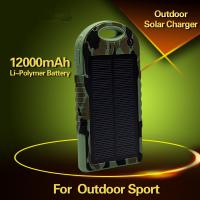 Wholesale Cheap Solar Mobile Phone Charger 10000mAh solar charger from china suppliers