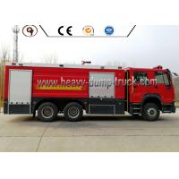 Wholesale 10000 Liters 371HP Emergency Rescue Vehicles 6*4 16000L Fire Fighting Truck from china suppliers