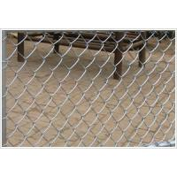 Buy cheap Security Construction Site Chain Link Fencing Roll Hot Dipped Galvanized Treatment from wholesalers