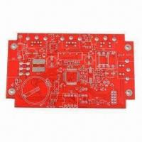 Wholesale 8-layer PCB with Red Soldermask, High TG, Lead-free HASL for Industrial Equipment from china suppliers