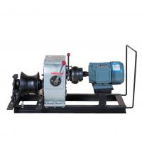 Wholesale Electric Engine Powered Winch For Power Construction , 3 Ton Fast Speed from china suppliers