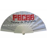 Buy cheap Novelty Fabric Folding Hand Fan For Wedding Favors Personalized Custom Printed from wholesalers