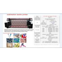 Buy cheap special 1.8m sublimation textile  printer from wholesalers