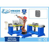 Buy cheap Automobile / Car Oil Tank Automatic MIG Welding Robot , Welding Industrial Robot from wholesalers