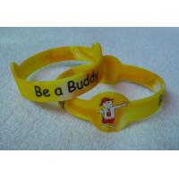 Wholesale Oem Unisex Bangle Custom Silicone Wristbands Personalized Rubber Bracelets from china suppliers