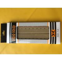 Wholesale Experiment Brown Electronic Prototype Board ABS Plastic 840 Tie - Points from china suppliers
