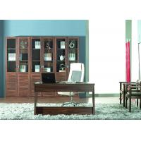 Wholesale Melamine Finish Panel Modern Home Office Furniture With Solid Wood Bookshelf from china suppliers