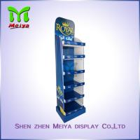 Wholesale Bathroom Products Custom Cardboard Standee Advertising , Recycling Foldable Display Stand from china suppliers