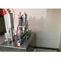Wholesale 5 In 1 Aerosol Spray Filling Machine / Aerosol Filling Equipment CE Approval from china suppliers