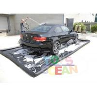 Wholesale Heavy Duty Inflatable Car Wash Mat Water Collector Boarding For Dirty Oil Collect from china suppliers