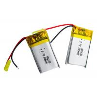 Wholesale Safety Lithium Polymer Battery Pack 401630 3.7v 180mah Lipo Battery For Bluetooth Ear Phone from china suppliers