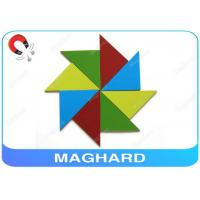 Wholesale Design Your Own Magnetic Kids Toys, Magnetic Puzzle DIY Toys with Colour PVC, Cardboard from china suppliers