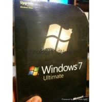 Quality Sell registered and upgraded Windows 7 Ultimate retailbox for sale