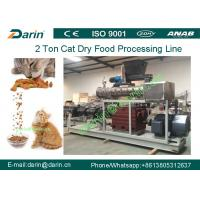 Wholesale 2 Ton Big Capcity Pet Food Extruder equipment , Cat / Fish feed extruder machine from china suppliers