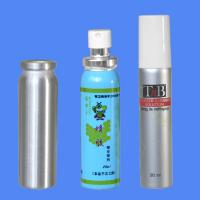 Wholesale 20ml Metal Aluminum Spray Bottle with cap and pump sprayer for Aerosol from china suppliers
