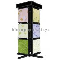 Wholesale Metal Mosaic Ceramic Tile Displays For Showrooms , 4 Sided Display Stand from china suppliers