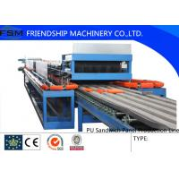 Wholesale Automatic Continuous PU Sandwich Panel Production Line For 25mm - 100mm Thickness PU Foam from china suppliers