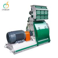 China Wheat Grinding Compact Flour Mill Animal Feed Hammer Mill Eco - Friendly on sale