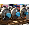 Buy cheap 10t 600mm gauge tramcar stainless hardness steel cast steel wheel from wholesalers