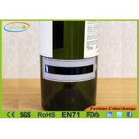Wholesale LCD Wrap Around Wine Thermometer / Wine PVC Temperature Gauge 4 ~ 22℃ from china suppliers