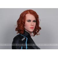 Wholesale Black Widow Celebrity Wax Statues Silicone Head Of Celebrity Wax Figure from china suppliers